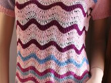 Ladies´ Top Free Knitting Pattern