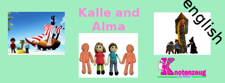 english Kalle and Alma