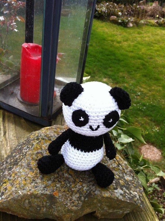 Handarbeiten Foto - Kleiner Panda Amigurumi - kostenlose ...