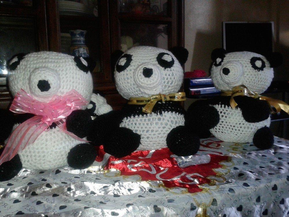 Handarbeiten Foto - Little Panda Amigurumi Crochet ...