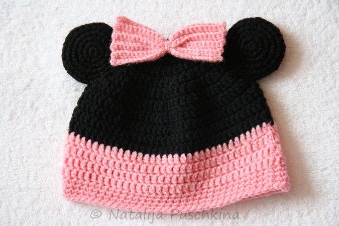 Süße Mickey Mouse Mütze Anleitung Hier Mütze Selbst Häkeln
