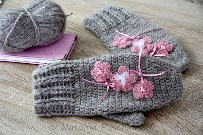 Wärmende Handschuhe und Stulpen häkeln | Crazypatterns.net