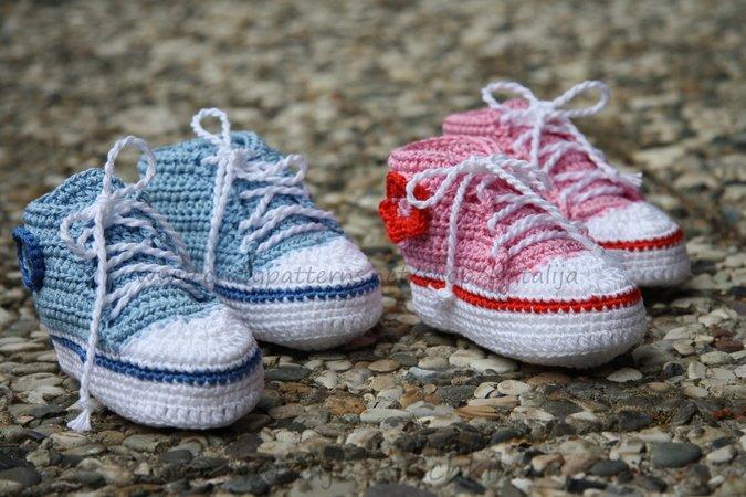 Süße Schuhe für Baby häkeln | super einfach Babyschuhe häkeln