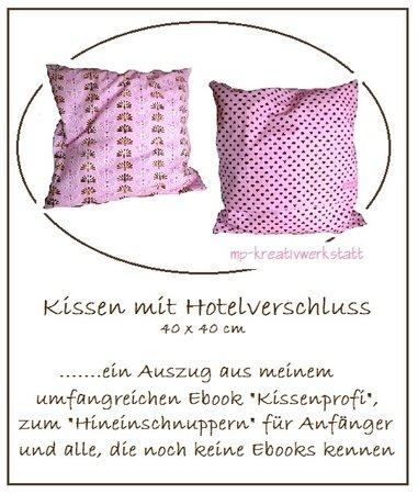 hotelverschluss kostenlose nahanleitung e book fa 1 4 r ein kissen mit kissenhulle nahen