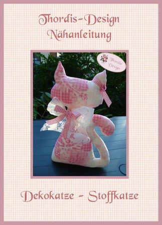 Schnittmuster Katze // Kuscheltier Katze DIY