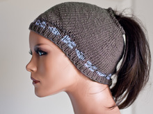 "Pigtail hat ""Mia"""