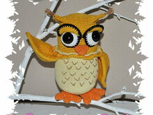 Crochet Pattern - Tutorial - Owl - Dreamy Claire
