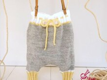 Knitting Pattern – Baggy Pants – no.75E