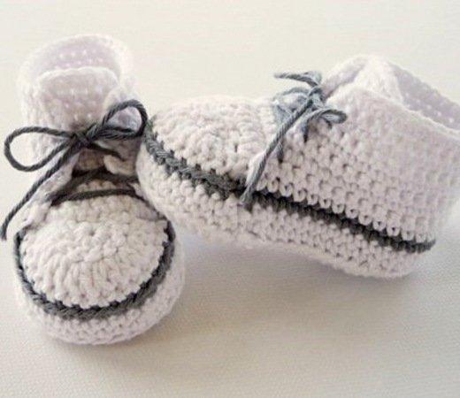 Baby Sneaker Häkeln Diy Baby Turnschuhe