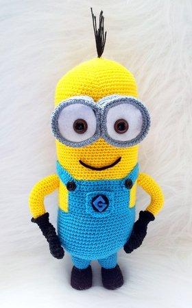 Crochet Minion amigurumi Despicable Me 2 Pattern