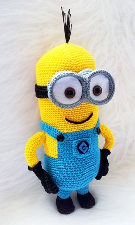 Minion amigurumi despicable me 2 pattern crochet minion amigurumi despicable me 2 pattern dt1010fo