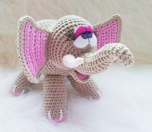 Amigurumi Elefant Selber Häkeln Diy Elefant