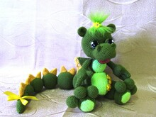Crochet Dragon Amigurumi