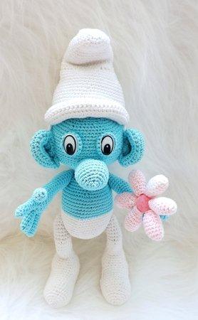 Crochet Smurf Pattern