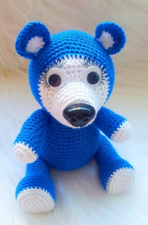 Free Crochet Bear Pattern - Free