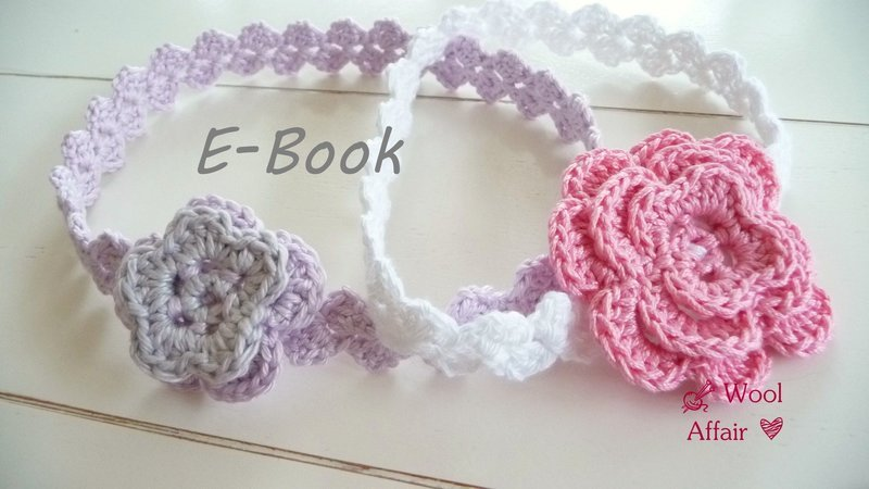 Haarband Mit Blüte Häkeln Diy Stirnband