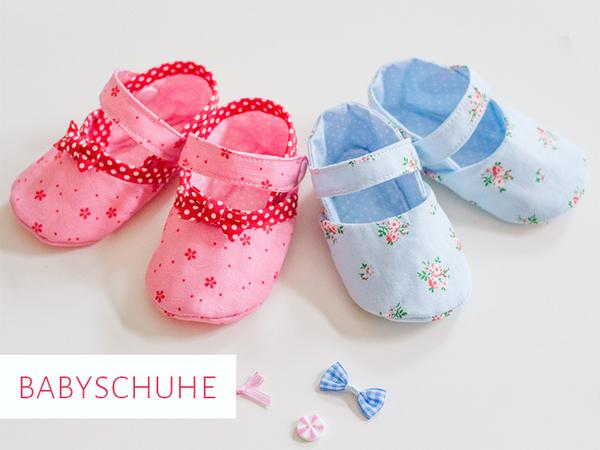 huge discount ef884 5e7aa Schnittmuster Babyschuhe mit Riemchen