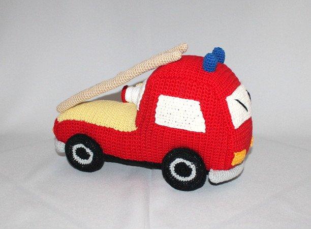 Feuerwehr Auto Häkeln Spielzeug Häkeln