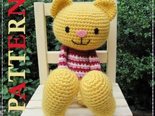 Huggy Cat Amigurumi Crochet Pattern