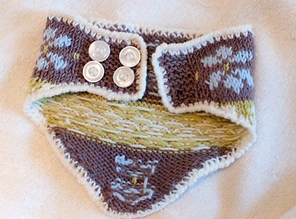 "Babyset ""Crystal"" - Hat and cowl"