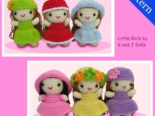 Little Girls, Amigurumi Crochet Pattern
