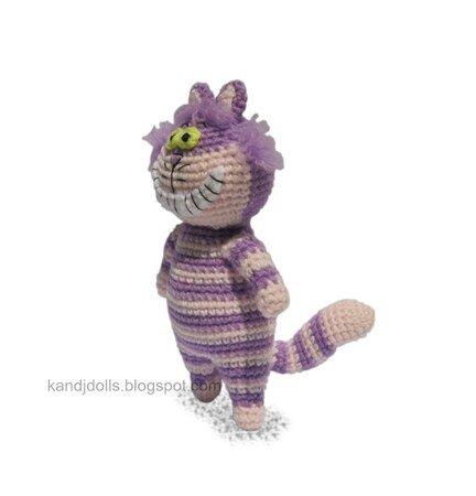 Cheshire Cat from Alice in Wonderland Plush by xMangoRose on ... | 450x432