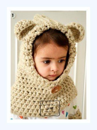 Kindermütze Häkeln Diy Teddy Mütze Häkeln
