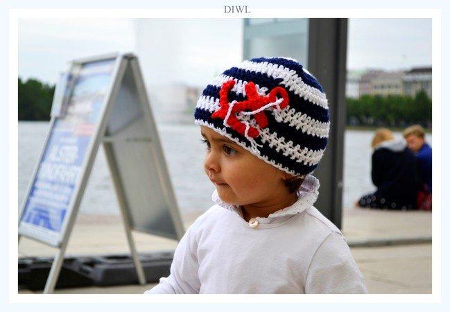 Baby Kinder Anker Mütze \