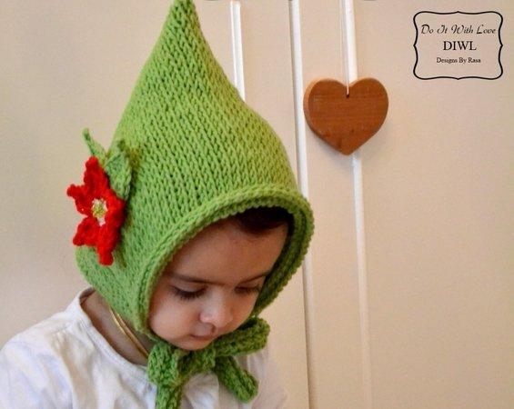 Kinder-Mütze häkeln // Zwergen-Mütze häkeln