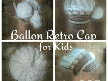 Retro Ballon Cap for Kid by DST