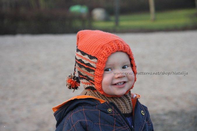 Schal Mütze Für Kinder Häkeln Diy Mütze