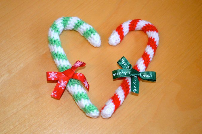 Crochet Candy Cane Christmas Classic