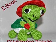 Crochet pattern - Tutorial - Amigurumi - Turtle Rosalie - E-Book