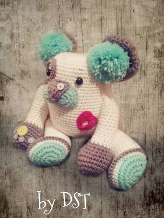 Amigurumi Cuddly Bear by DST your Imagination