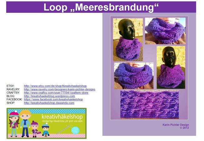 kostenlos Loop häkeln // Anleitung Loop DIY