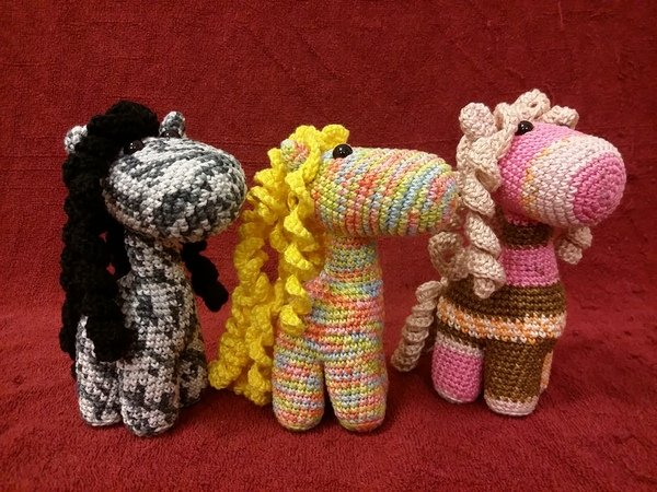 Ponytail Amigurumi : Pony hakeln // Amigurumi Baby-Pony hakeln