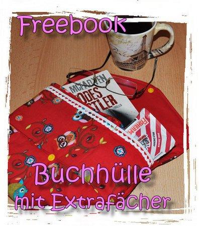 gratis Büchertasche nähen // Freebook Tasche