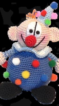 Clowns Häkeln Deko Für Kindergeburtstag
