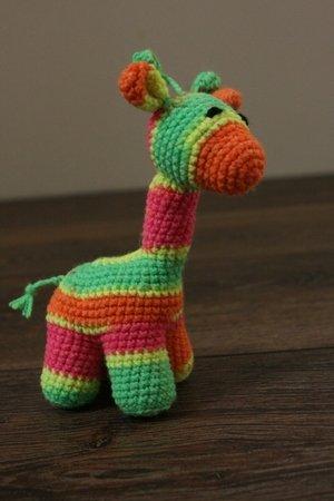 Crochet plush toy giraffe amigurumi | Amiguroom Toys | 450x300