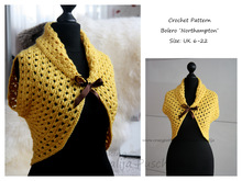Crochet Pattern - Woman Bolero <Northampton>