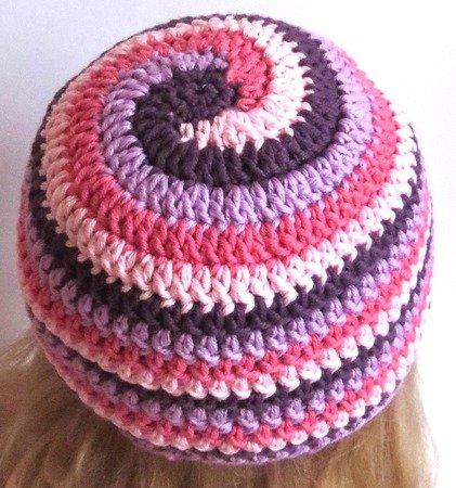 Mütze Spiralmuster Selber Häkeln Diy Beanie
