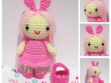 Little Pink Lady - Amigurumi Doll - Free Crochet Pattern