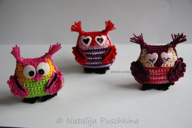 Crochet Pattern for Key Cap Owl - Crochet Owl