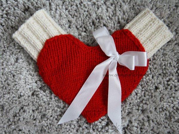 Pärchen-Handschuhe stricken - Handschuhe DIY