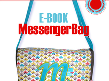 E-Book - Wickeltasche / Messenger Bag