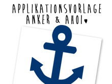 Applikationsvorlage - Anker & Ahoi