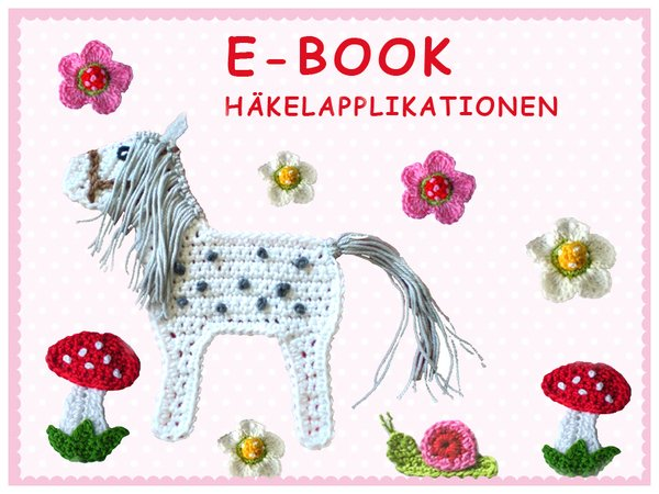Applikation Pferd Pilz Schnecke Diy