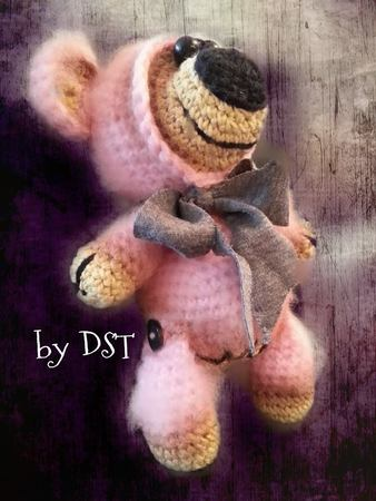 Amigurumi Lovly Bear  by Dst your Imagination
