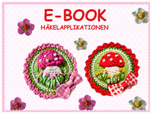 Tutorial Crochet Toadstool Button