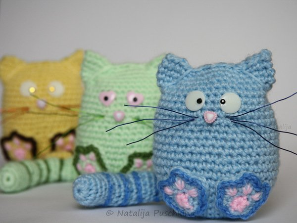 katze h keln diy amigurumi k tzchen muris. Black Bedroom Furniture Sets. Home Design Ideas